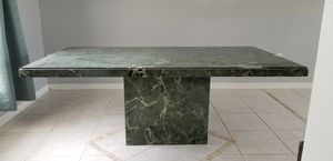 Real Marble Kitchen Dining Table Heavy No Chairs for Sale in Clermont, FL