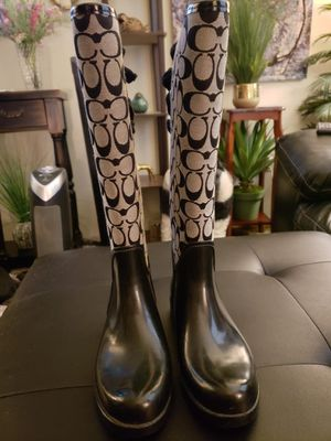 Coach Womens Leather Boots for Sale in West Linn, OR