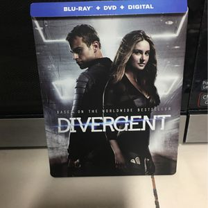 Divergent (Blu-Ray & DVD) for Sale in Santa Ana, CA