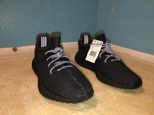 yeezy black size 13 non-reflective