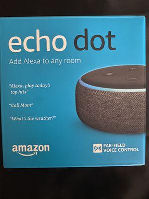 Amazon Echo Dot/Alexa-THIRD GENERATION for Sale in Sebring, FL