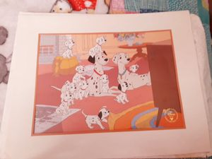 Disney's one hundred and one dalmatians lithograph for Sale in Louisville, KY