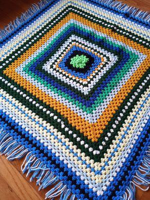 Vintage crochet blanket for Sale in Seattle, WA