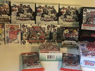 Panini Football & Topps Baseball Boxes for Sale in Stanford,  CA
