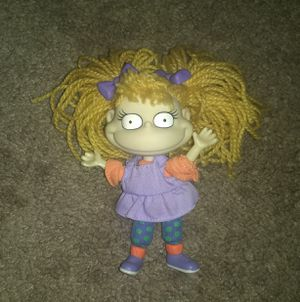 """1997 Angelica 4.5"""" Mattel PVC Plush Action Figure Yarn Doll Rugrats Nickelodeon for Sale in Vineland, NJ"""