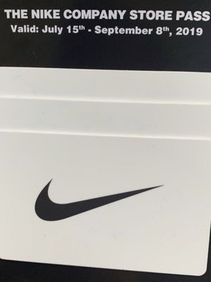 Nike Company Store Pass for Sale in Portland, OR