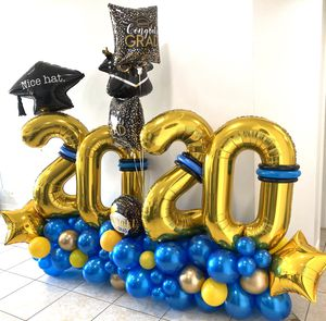 Grad balloons balloon prom 2020 congrats party for Sale in Tamarac, FL