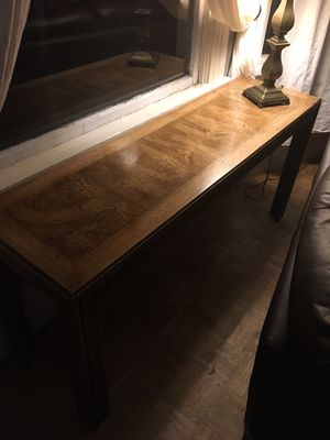 Vintage Console Sofa Entry Table for Sale in Seattle, WA