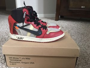 Jordan 1 Retro High Off-White Chicago for Sale in Sacramento, CA