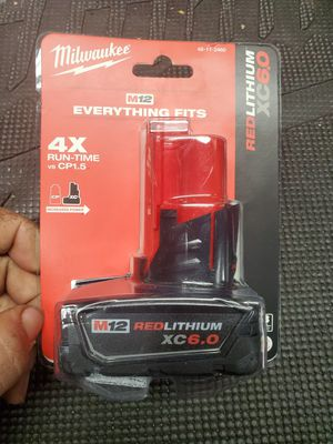 milwaukee m12 6.0xc battery for Sale in Lombard, IL