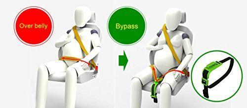 ZUWIT Bump Belt, Maternity Car Belt Adjuster