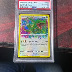 PSA Graded Vivid Voltage Amazing Rayquaza for Sale in Surprise, AZ