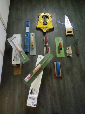 Cement mason tools for Sale in Fresno, CA