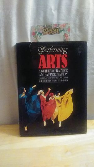 Performing Arts A guide to practice and appreciation for Sale in Grand Prairie, TX