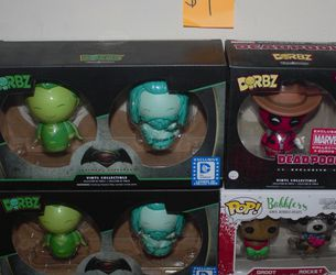 Various Funko Pops And Dorbs for Sale in Concord,  CA