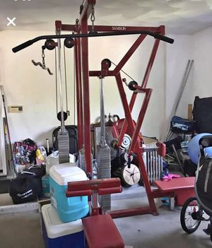 Cable Pulley Machine (3 Stations) for Sale in Chelmsford, MA
