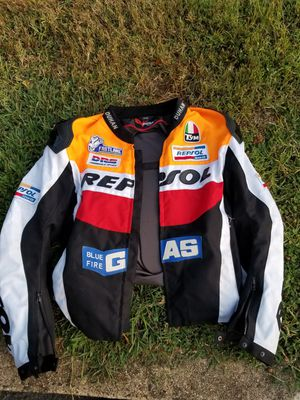 Brand new repsol Honda motorcycle jacket for Sale in Charlottesville, VA