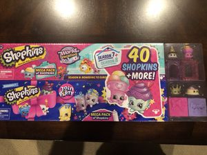 Shopkins Double Set - Boarding to Europe & Join the Party for Sale in Sterling, VA