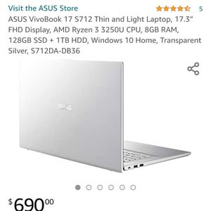 "Brand New Asus Laptop 17.3"" Display for Sale in Boerne, TX"