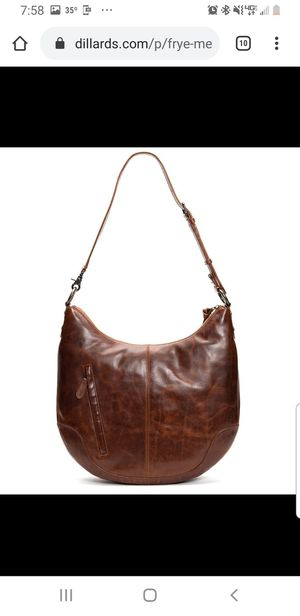 NWT Brown leather crossbody by FRYE for Sale in Columbus, GA