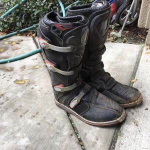 Dirt bike boots size11 for Sale in Sacramento, CA