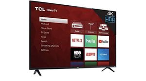 TCL 55 inch roku smart tv for Sale in Morristown, NJ