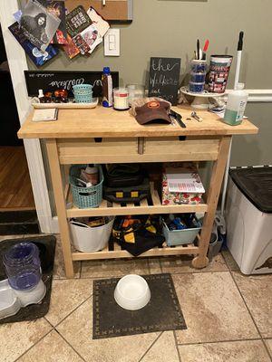 Ikea kitchen cart for Sale in Alexandria, VA
