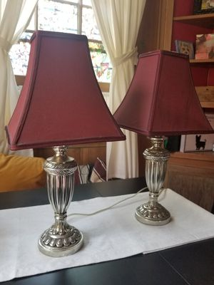 1 Pair of table lamps for Sale in San Diego, CA