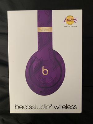 Beats Studio Wireless 3 Lakers Edition for Sale in Fresno, CA