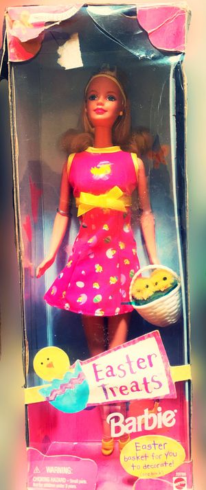 "Barbie Collectors! This is a 1999 Special Edition ""Easter Treats Barbie"" NRFB for Sale in Tacoma, WA"