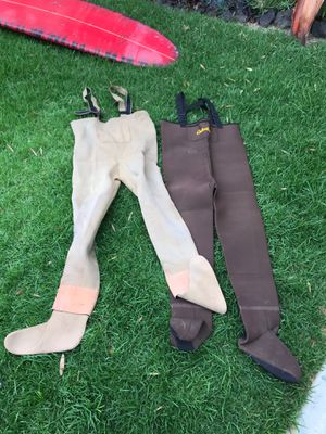 Fishing waders for Sale in Fountain Valley, CA