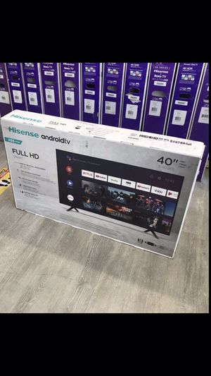 40 INCH HISENSE FULL HD ANDROID SMART TV 📺 for Sale in Chino Hills, CA