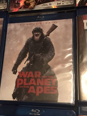 War for the Planet of the Apes Blu-ray DVD for Sale in Gardena, CA