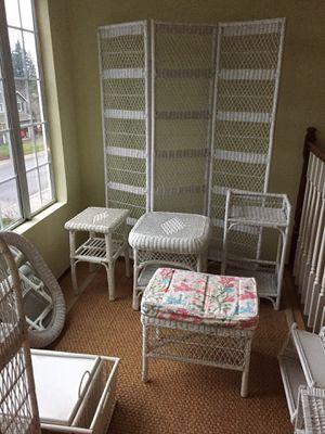 Wicker Furniture for Sale in Woodinville, WA
