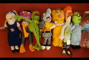 Muppets Jim Herson plush lot $79 all for Sale in Lawndale, CA