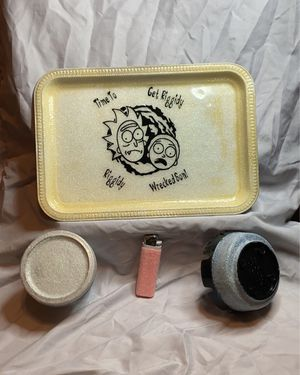 Glow in the Dark Rolling Tray Set for Sale in PUEBLO DEP AC, CO
