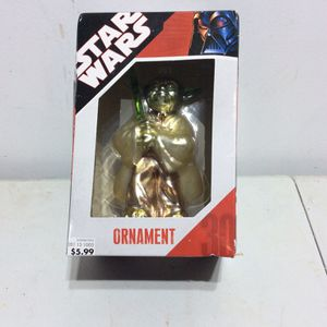 2007 Yoda Star Wars Ornament New In Box for Sale in Sleepy Hollow, IL