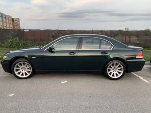 2003 BMW 745Li Clean Fresh VA No Accidents for Sale in West McLean, VA
