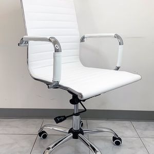New $85 Modern Computer Office Chair Mid Back Recline Adjustable Seat PU Leather for Sale in La Mirada, CA