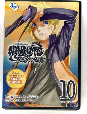 "NARUTO ""Shippuden"" DVD Box Set #10 - NEW for Sale in Alamogordo, NM"