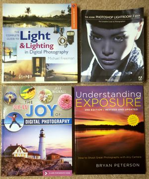 4 Professional Photography Books for Sale in Arlington, VA