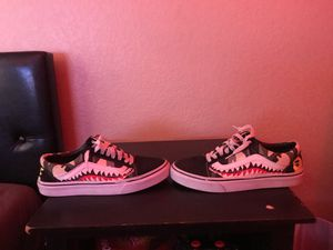 Custom bape vans for Sale in Goodyear, AZ
