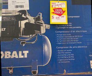 KOBALT LK3197 3-gallon Electric Air Compressor 😀😀😀 24H for Sale in Maxwell, TX
