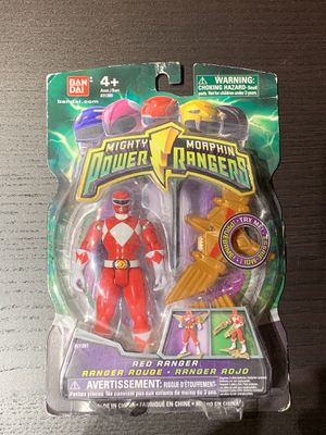 Power Ranger Mighty Morphin Red Ranger (2009) Bandai Action Figure for Sale in San Diego, CA