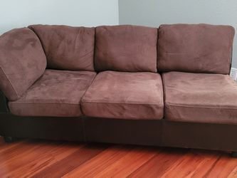 Brown Suede Couch for Sale in Orlando,  FL