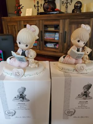 New precious moments growing in grace age 13 for Sale in San Dimas, CA