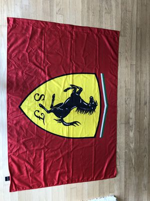 Authentic Ferrari flag for Sale in Greenwood Village, CO