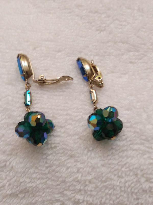 Lewis Segal California Clip Back Earrings
