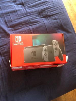 Nintendo switch with 2Games and portable case for Sale in Amarillo, TX
