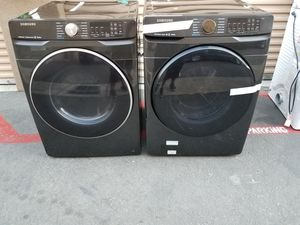 samsung black stanless gas dryer and washer for Sale in Tustin, CA